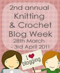 2011 Knitting and Crochet Blog Week
